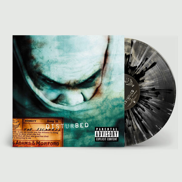 Disturbed: The Sickness: Limited Edition Black Cloud Smoky Vinyl