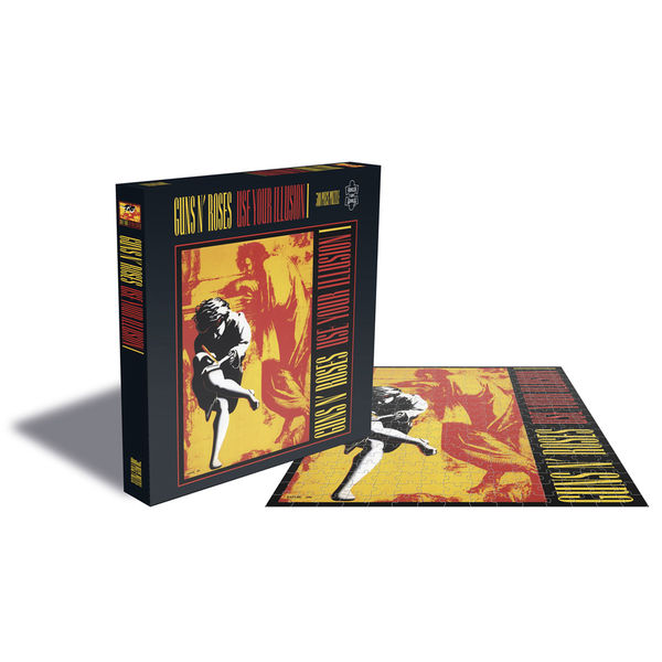 Guns N' Roses: GUNS N' ROSES - USE YOUR ILLUSION 1 JIGSAW PUZZLE