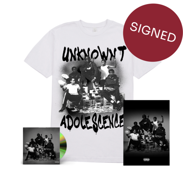 Unknown T: Unknown T Exclusive Bundle: *SIGNED* CD, Merch & Poster