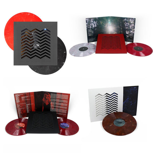 Various Artists: The Sound Of Twin Peaks Limited Edition Colour Vinyl Bundle