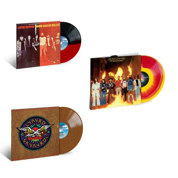 Lynyrd Skynyrd: The Sound Of Lynyrd Skynyrd: Gimme Back My Bullets, Street Survivors & Skynyrd's Innyrds Limited Edition Colour Vinyl Bundle