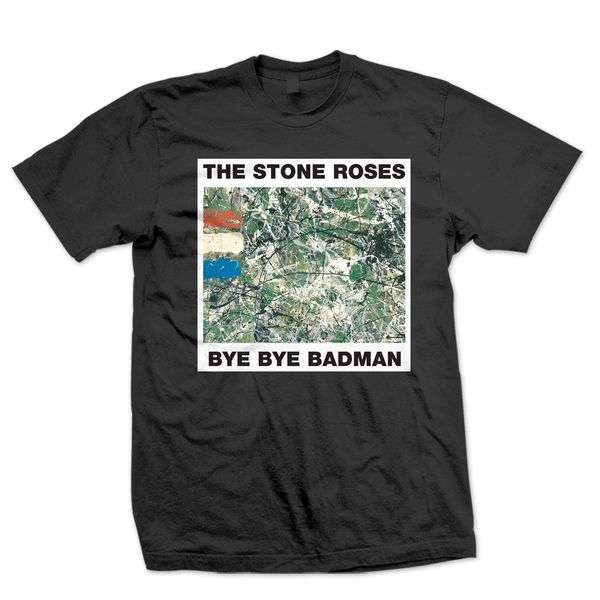 The Stone Roses: Bye Bye Badman Black T-Shirt