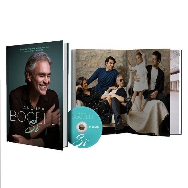 Andrea Bocelli: Store Exclusive Table Book