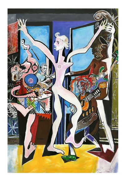 Ronnie Wood: ABSTRACT STONES I