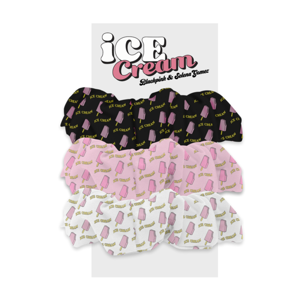 Blackpink: ICE CREAM SCRUNCHIE