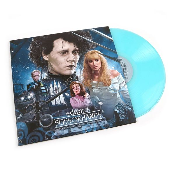Original Soundtrack: Edward Scissorhands: 30th Anniversary Gatefold Ice Sculpture Blue Vinyl