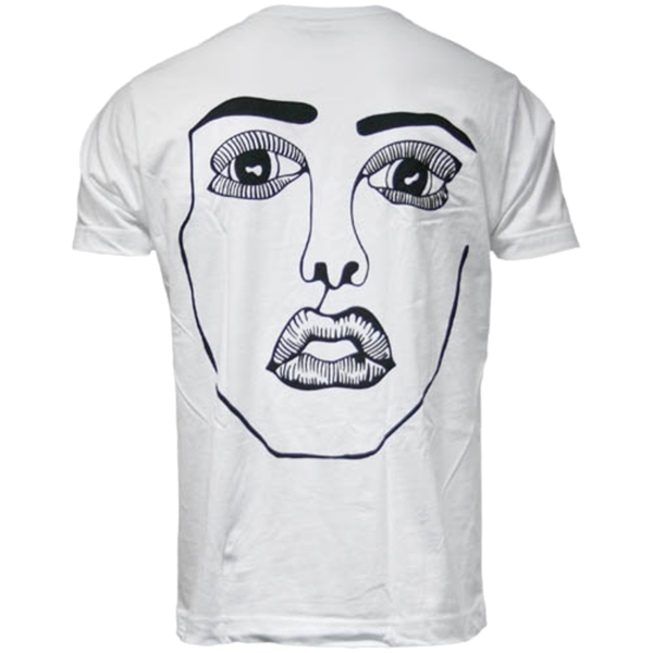 Disclosure: The Face: White + Black Tee Back Print - S