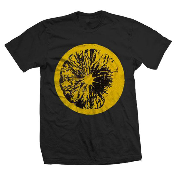 The Stone Roses: Lemon Black T-Shirt