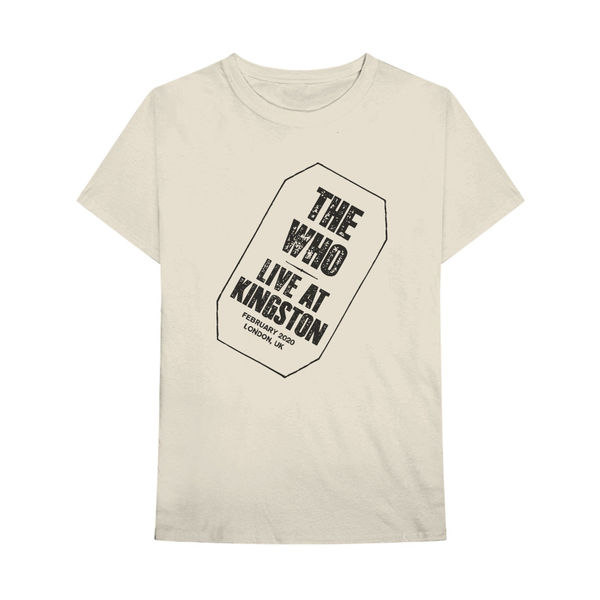 The Who: Live At Kingston T-shirt