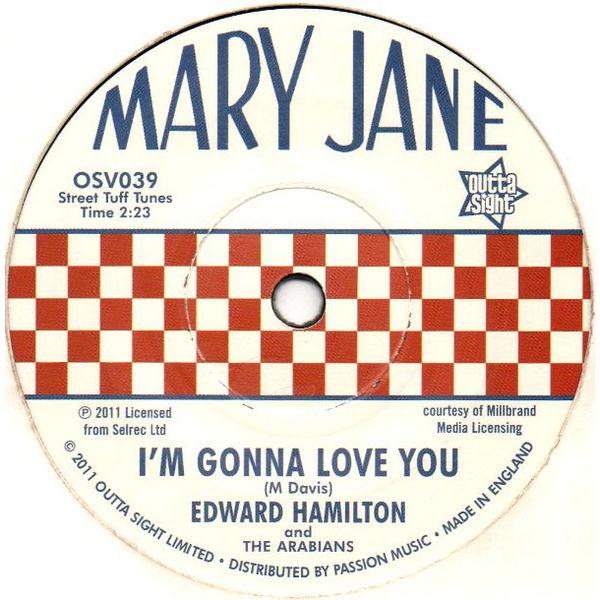 Edward Hamilton & The Arabians: Baby Don't You Weep / I'm Gonna Love You