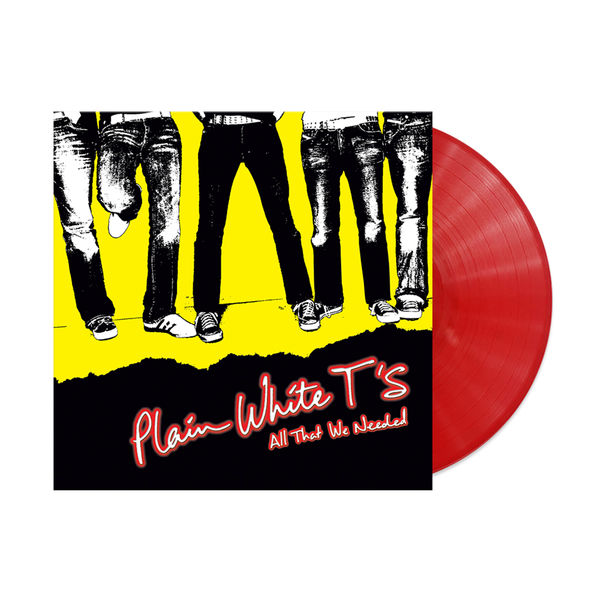 Plain White T's: All That We Needed: Limited Edition Red Vinyl