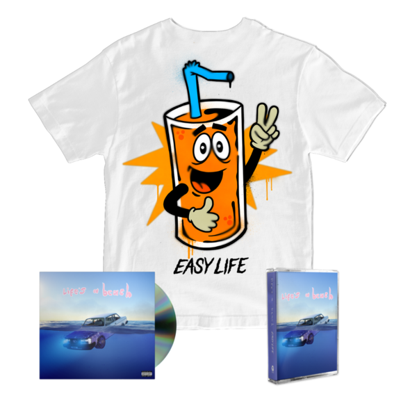 Easy Life: squeezy life tee + cd + cassette