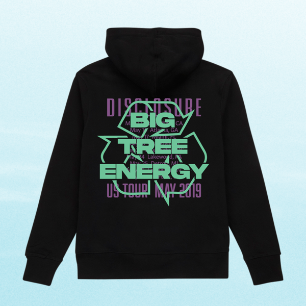Disclosure: Energy: Recycled Tour Big Tree Energy Hoodie