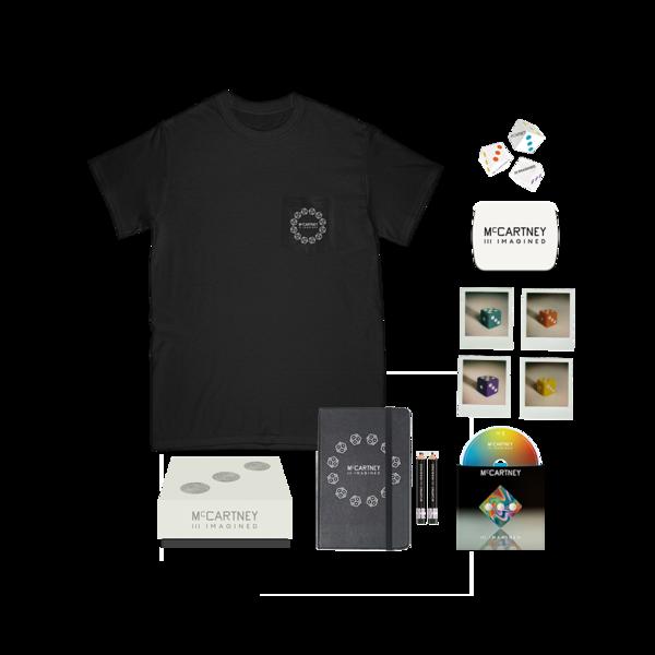 Paul McCartney: Paul McCartney - McCartney III Imagined - Limited Edition Box Set + Black Pocket T-shirt