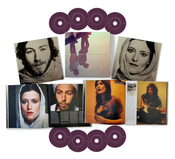 Richard and Linda Thompson: Hard Luck Stories (1972 - 1982): 8CD Box Set + Exclusive Lithograph