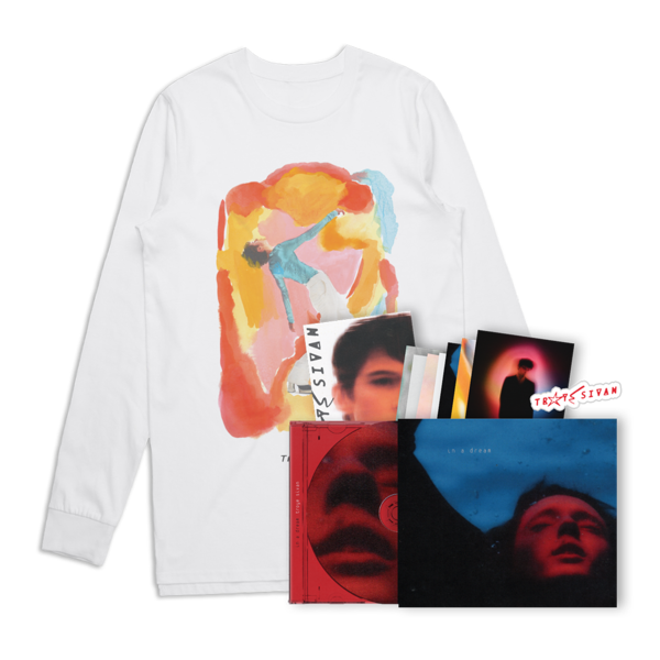 Troye Sivan: Easy Long Sleeve T-Shirt + In a Dream CD