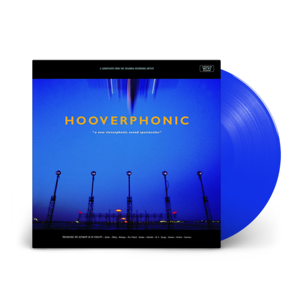 Hooverphonic: A New Stereophonic Spectacular: Limited Edition Blue Vinyl