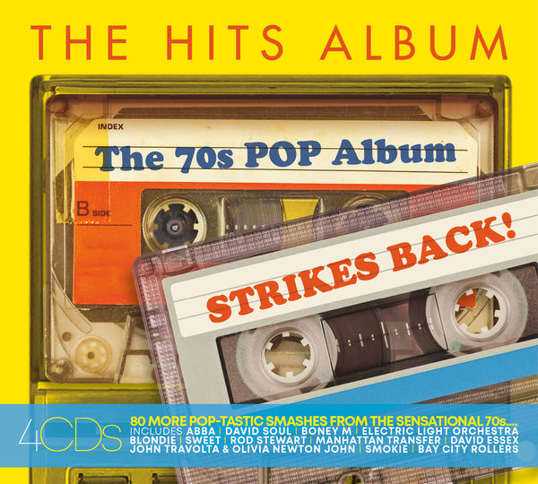 Various Artists: THE HITS ALBUM - THE 70'S POP ALBUM - STRIKES BACK!