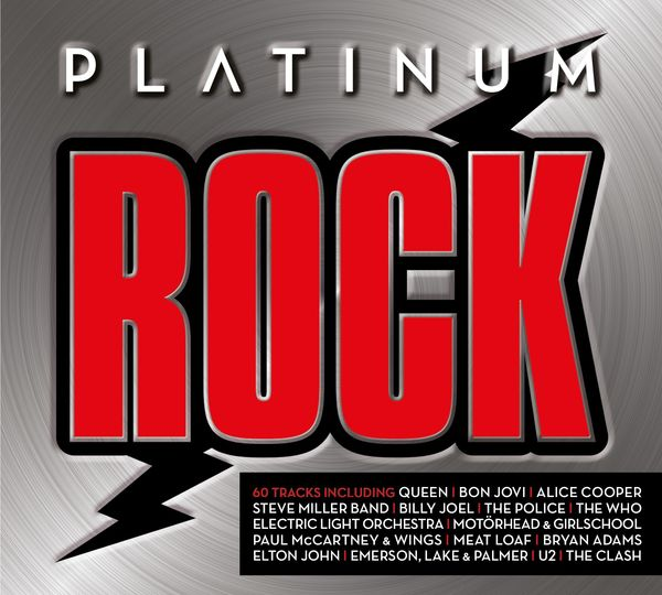 Various Artists: PLATINUM ROCK CD