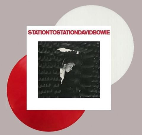 David Bowie: Station To Station: 45th Anniversary 180g Random Red or White Vinyl