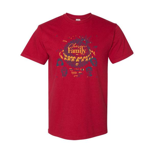 Rina Sawayama: Rina Sawayama 'Chosen Family' Red T-Shirt