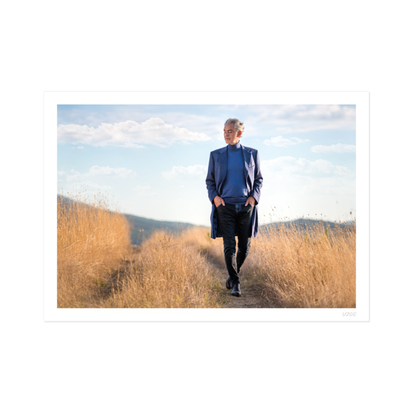 Andrea Bocelli: Believe Exclusive Signed Print