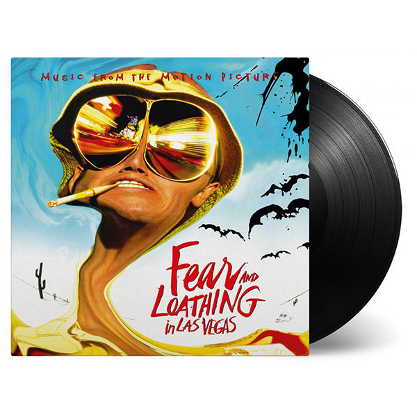 Original Soundtrack: Fear & Loathing In Las Vegas: Limited Edition 'Bat Country' Black Vinyl