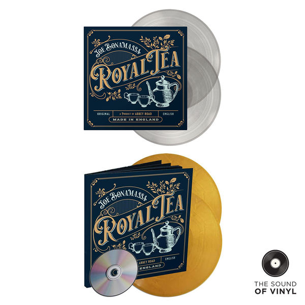 Joe Bonamassa: The Sound Of... Joe Bonamassa: Deluxe Colour Vinyl Editions Exclusive Bundle
