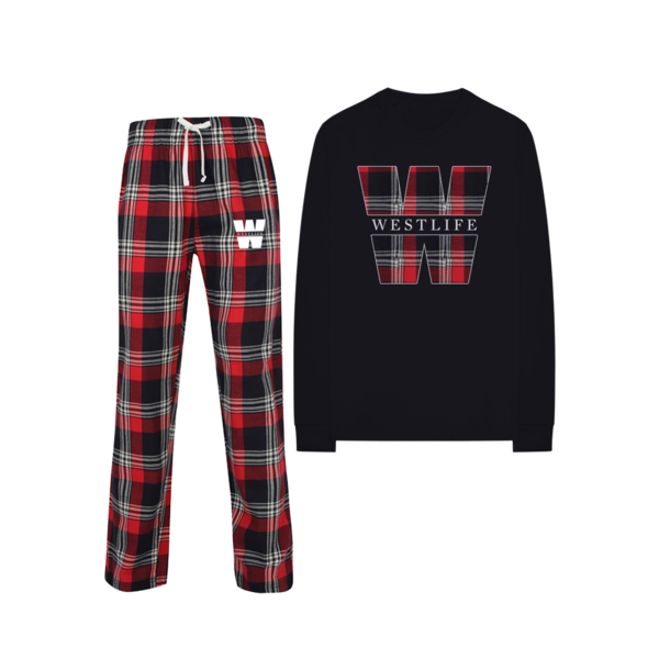 Westlife: SOLD OUT - LIMITED EDITION WESTLIFE CHRISTMAS PJ SET