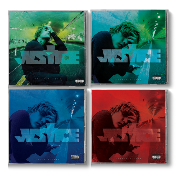 justin bieber: JUSTICE 4CD BUNDLE