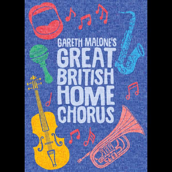 Gareth Malone: GARETH MALONE'S GREAT BRITISH HOME CHORUS SOUVENIR MOSIAC POSTER