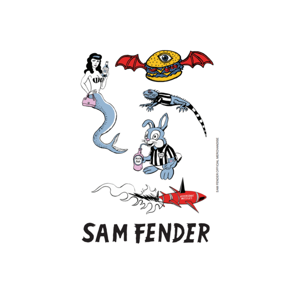 Sam Fender: Sticker Sheet