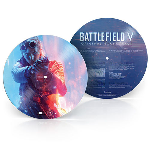 Johan Soderqvist & Patrik Andren: Battlefield V Original Soundtrack: Limited Edition Picture Disc [RSD 2019]
