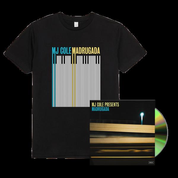 MJ Cole: MJ Cole Presents Madrugada Signed CD and T-shirt Bundle