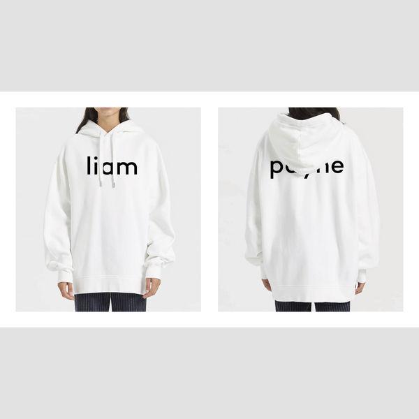 Liam Payne: LP WHITE HOODIE