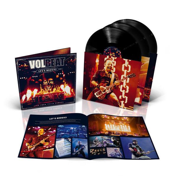Volbeat: Lets Boogie! LTD 3 Vinyl Album