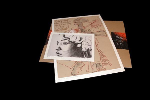Ronnie Wood: Limited Edition Art Print Folio Set