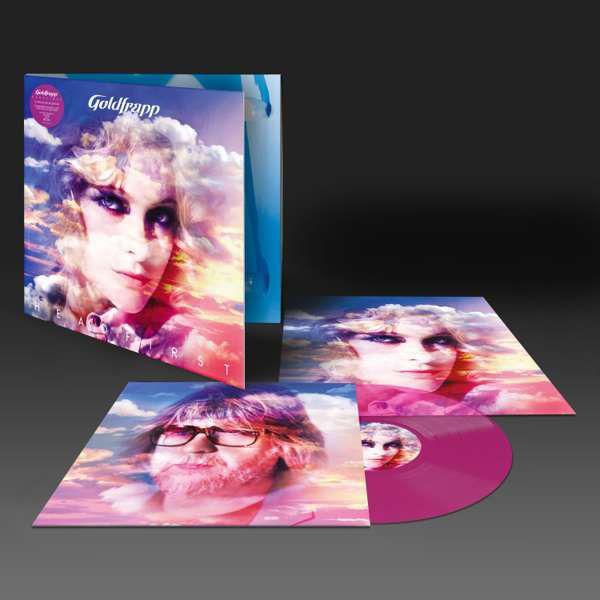 Goldfrapp: Head First: Limited Edition Gatefold Transparent Magenta Vinyl