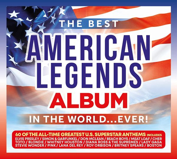 Various Artists: The Best American Legends Album In The World... Ever!