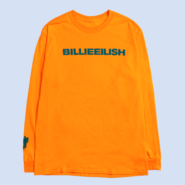 Billie Eilish: Orange Dont Smile At Me Longsleeve