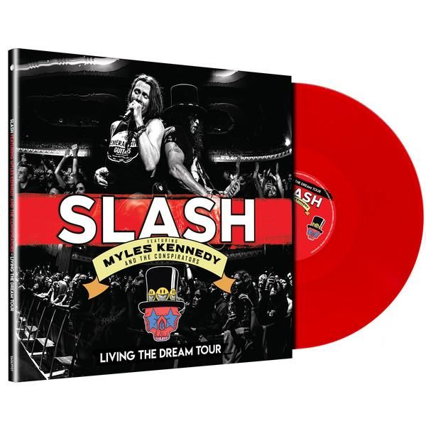 Slash ft Myles Kennedy & The Conspirators: Living The Dream Tour: Triple Red Vinyl