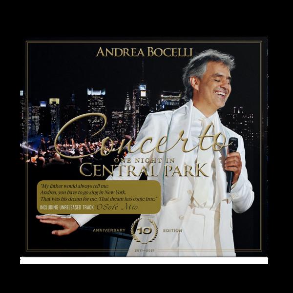 Andrea Bocelli: Concerto: One Night In Central Park - 10th Anniversary Edition CD