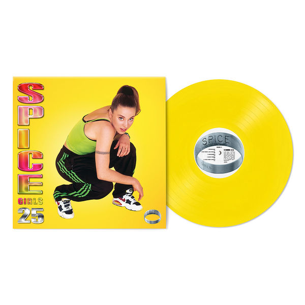 Spice Girls: Spice - 25th Anniversary ('Sporty' Yellow Coloured) Vinyl LP