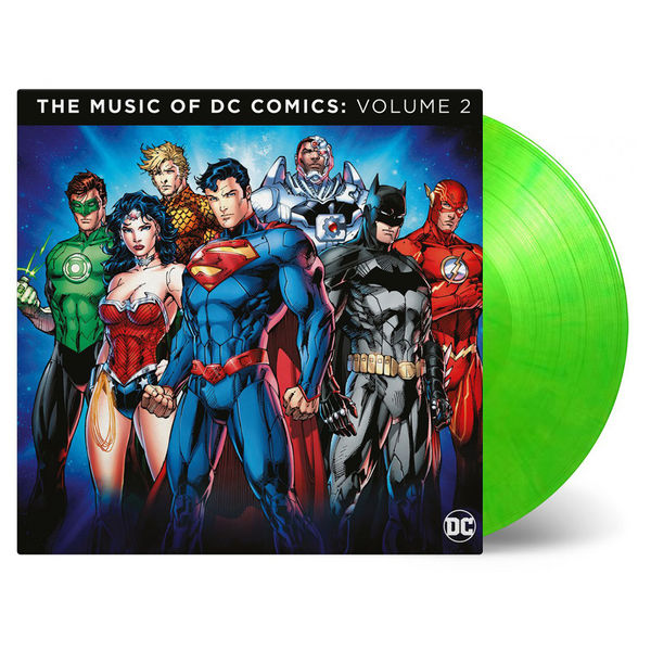 Original Soundtrack: Music Of DC Comics Vol.2: Limited Edition Green Coloured Vinyl