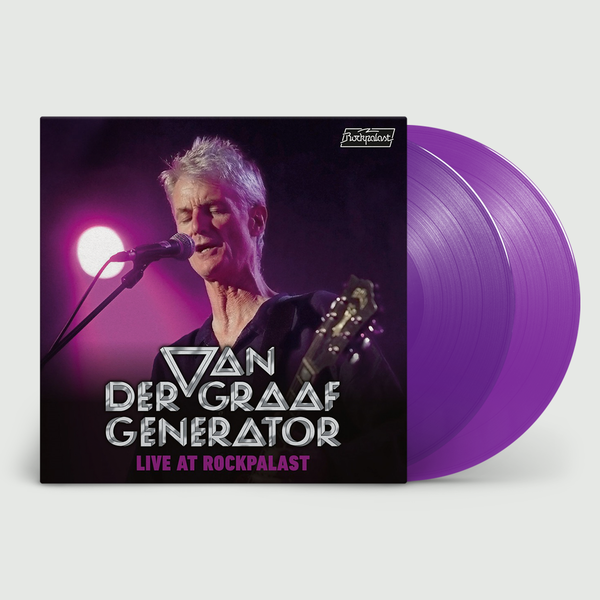 Van Der Graaf Generator: Live At Rockpalast: Limited Edition Triple Purple Vinyl