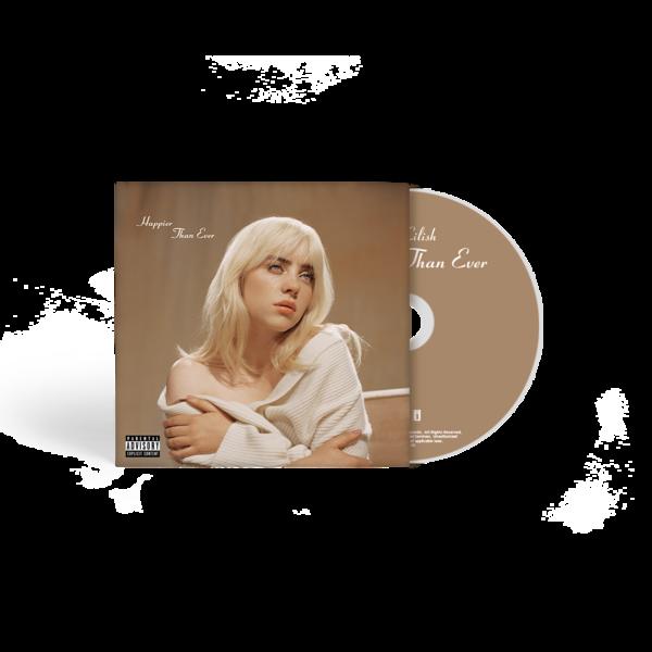 Billie Eilish: 'Happier Than Ever' CD