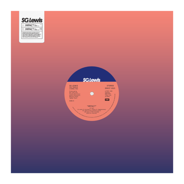 """S.G. Lewis: Limited Edition Impact 12"""" Vinyl"""