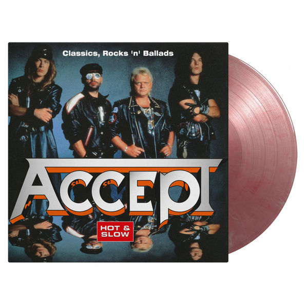 Accept: Hot and Slow, Classics Rock n Roll Ballads: Limited Edition Silver & Red Marbled Vinyl