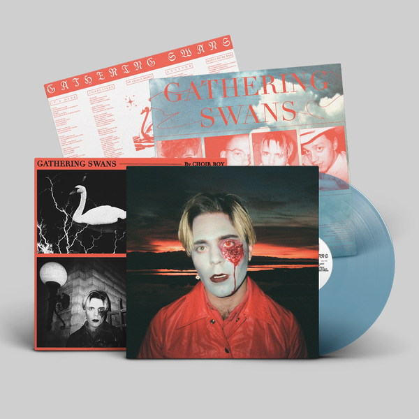 Choir Boy: Gathering Swans: Limited Edition Clear Ocean Blue Vinyl