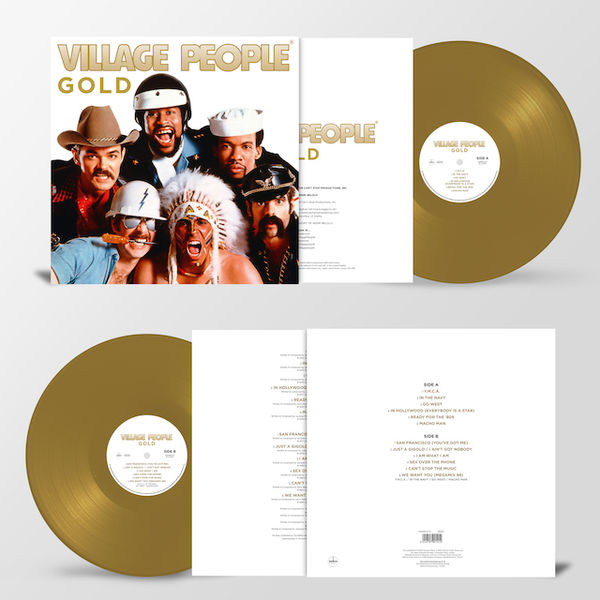 Village People: Gold: Limited Edition Colour Vinyl